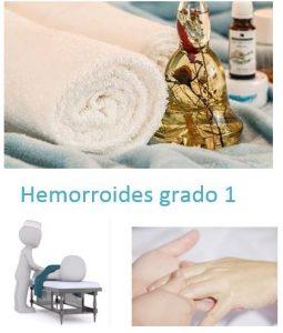 hemorroides grado 1